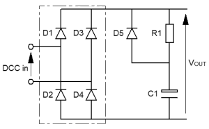 "Diagram of the ""classic"" rectifier"
