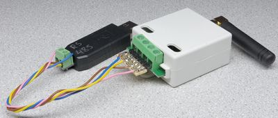 Connection of the USB adapter