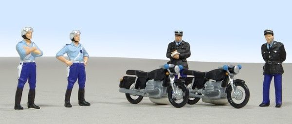 BMW motorcycles R60 and gendarmes Preiser