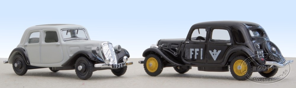 Citroën Traction Avant Atlas