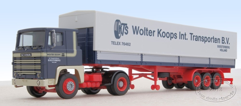Scania tractor Herpa