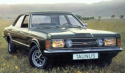 Ford Taunus GXL 1972 (C) Classic Car Catalogue