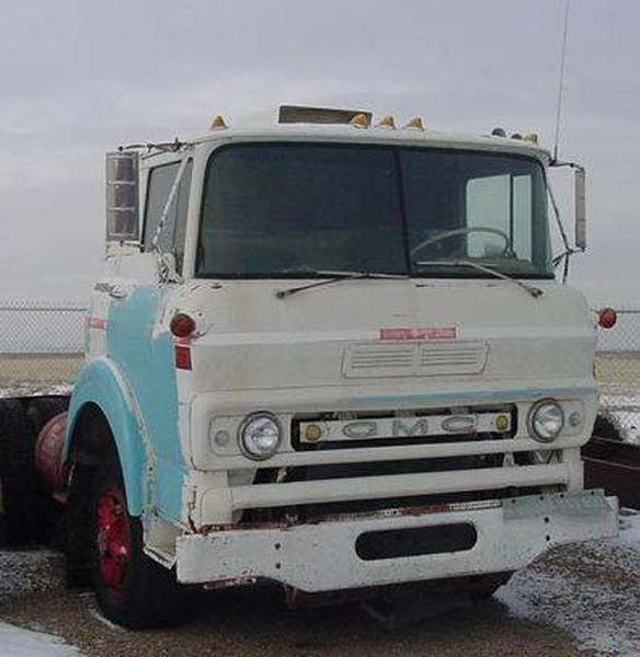 Benne gmc l7004 matchbox - Camion benne americain ...