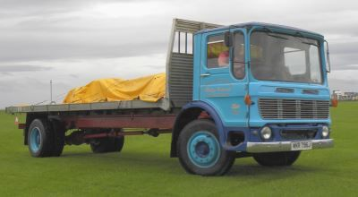 Leyland flatbed lorry