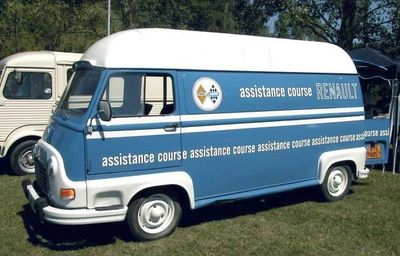 Renault Estafette assistance course