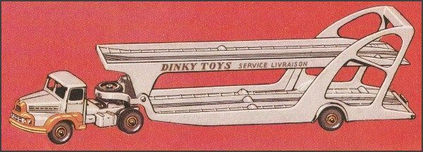 Dinky Toys Unic transport autos