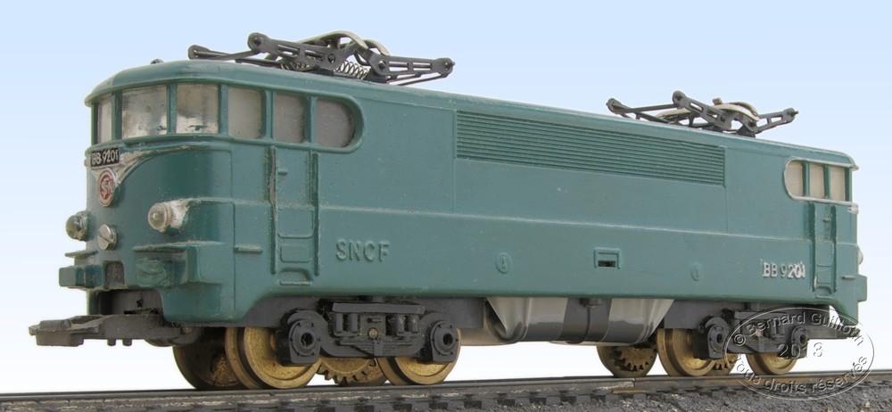 locomotive lectrique bb 9201 jouef. Black Bedroom Furniture Sets. Home Design Ideas