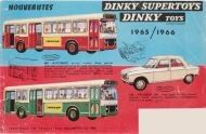 Catalogue Dinky Toys 1965-1966