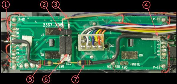 PCB with decoder