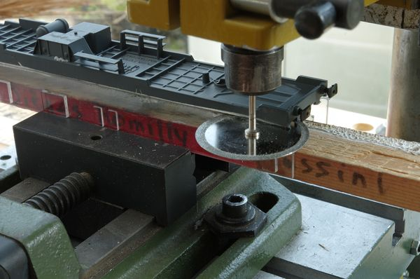 Chassis sawing