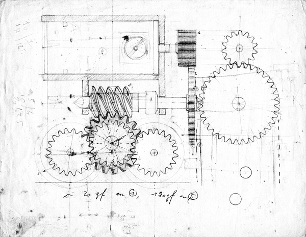 Gearbox design for the 16794