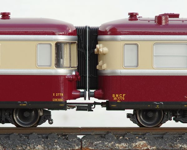 RGP coupling with corrected height