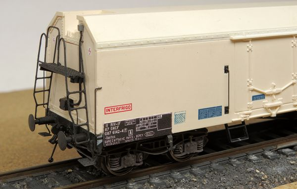 View of changes on the Iaehss wagon