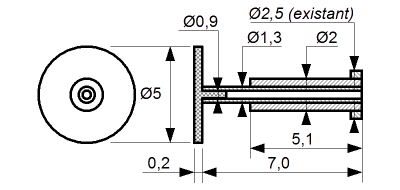 Buffer dimensions for Iaehss