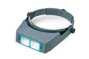 Optivisor head band magnifier