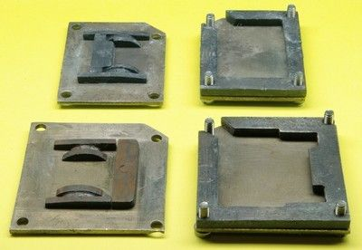 Ballast moulds