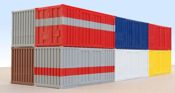 20 ft ISO containers Kibri