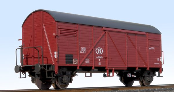 """Bremen"" SNCB covered wagon Roco"