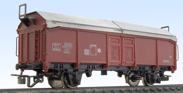 Jouef sliding roof wagon