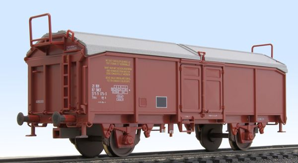 Wagon with sliding roof Roco