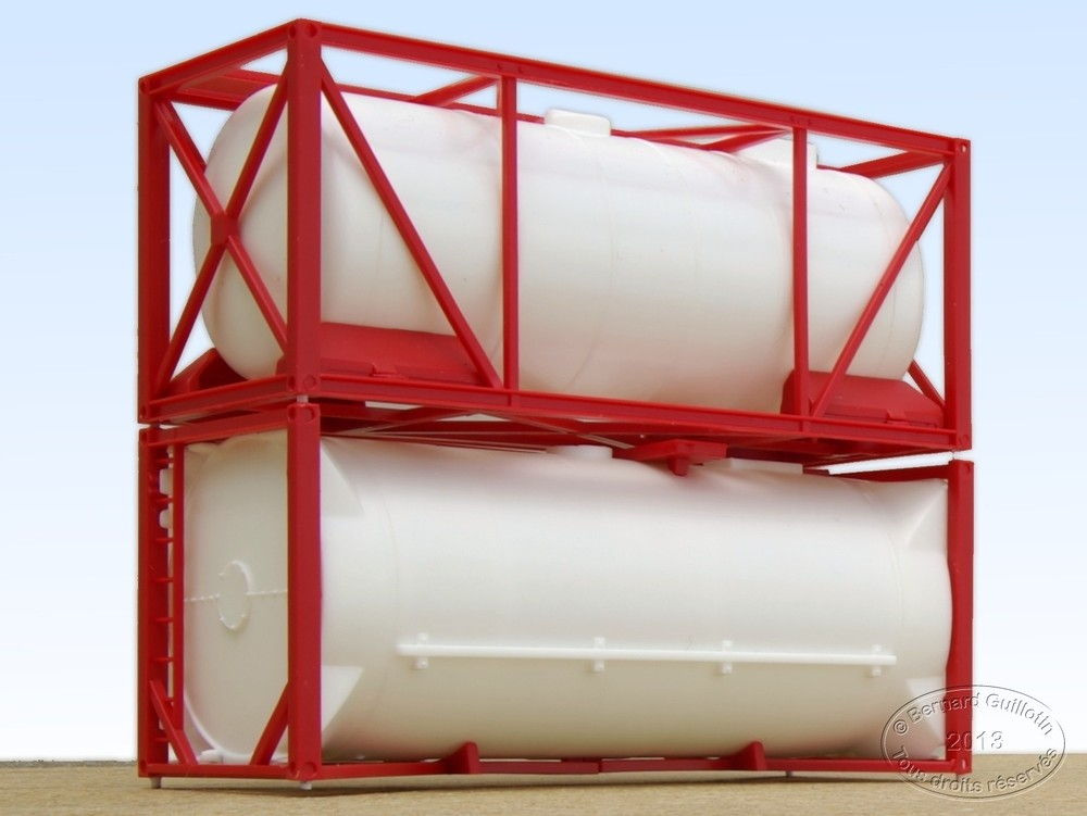20 ft ISO tank containers Herpa