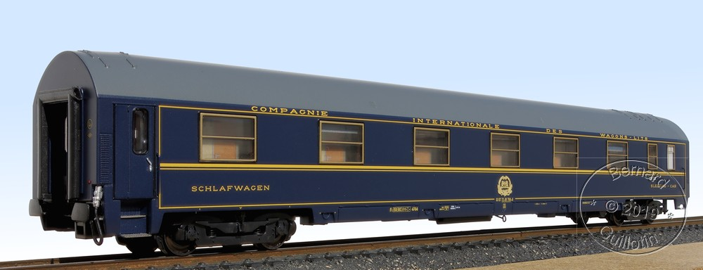 Brissonneau ACME MU Sleeping car