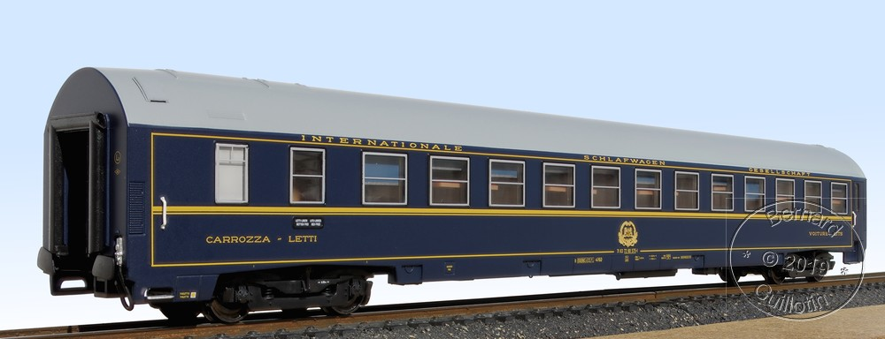 FIAT ACME MU Sleeping car
