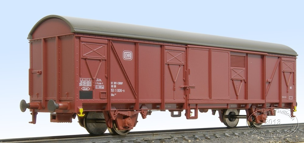 DB Gbs covered wagon Roco