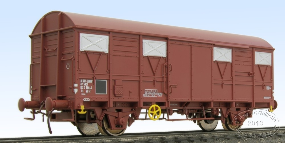 G4 covered wagon Electrotren