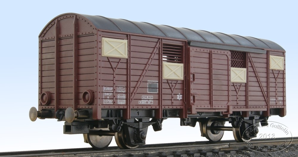 Jouef K 2-axle covered wagon