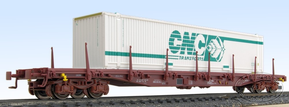 Sgss container flat wagon LS Models