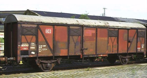 DB Gbs 252 covered wagon