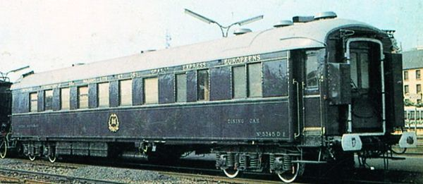 Dining-car No. 3345